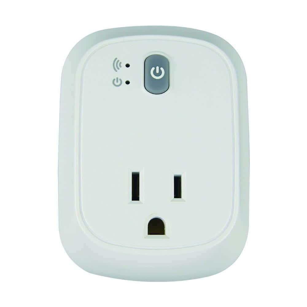 Eco WorkChoice Indoor WiFi Tap Outlet-$7.44@Home Depot