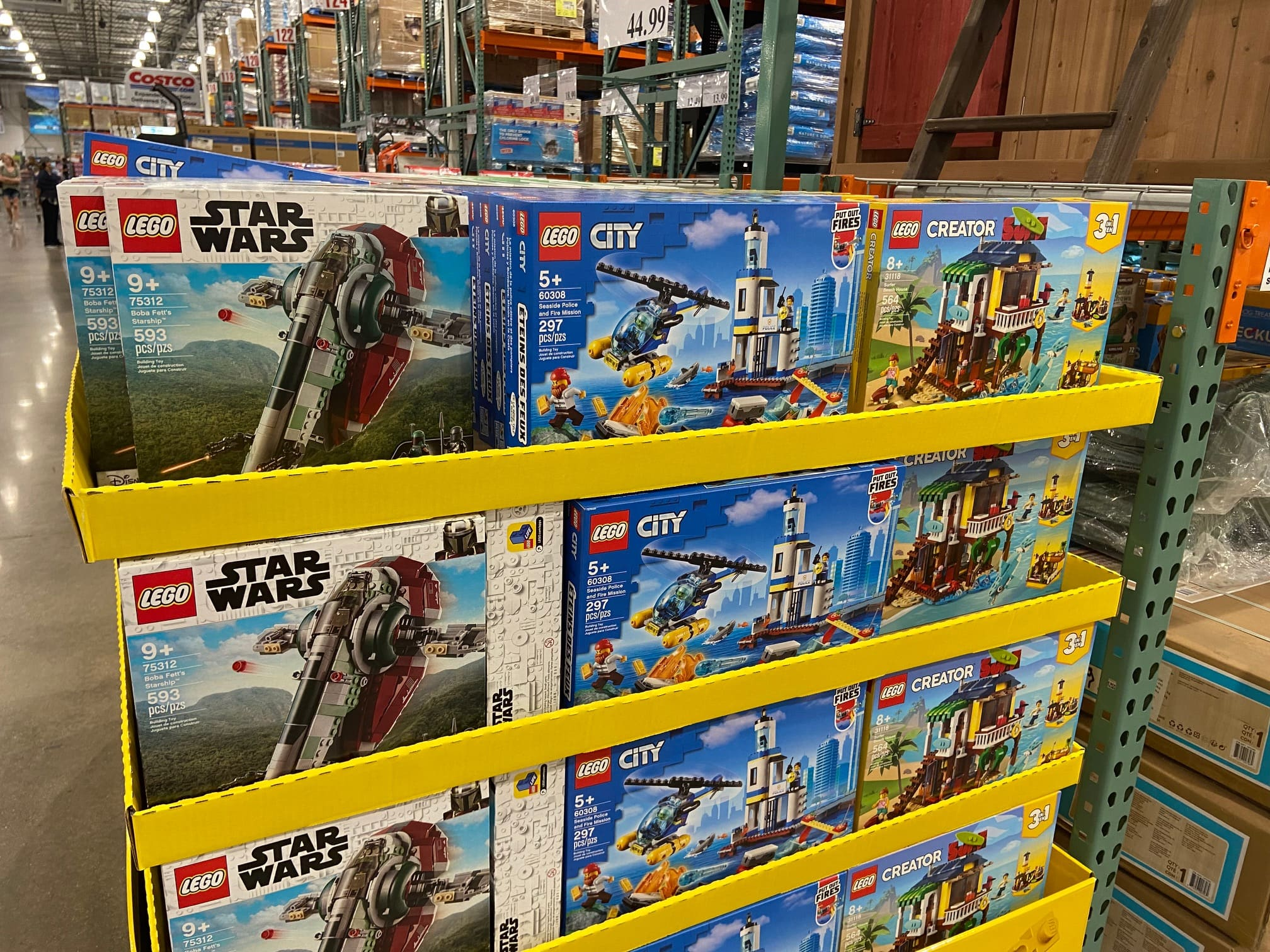 Costco - In Store - Lego Boba Fett's Starship, Surfer Beach House, & Seaside Police & Fire Mission Sets - $39 Each