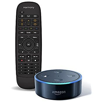 Logitech Harmony Companion + Amazon Echo Dot (2nd gen) for $130