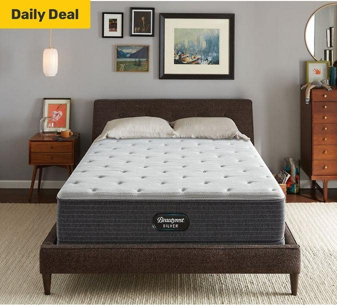 Beautyrest Mattress Basic BR800 Beautyrest Silver BRS900 44% OFF $281.24 and up FREE WHITE GLOVE SHIPPING