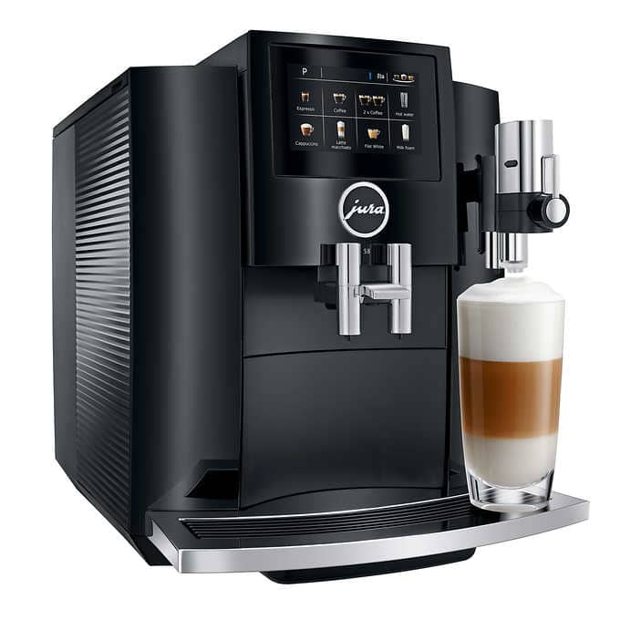 Costco: Jura S8 Automatic Coffee Machine, Piano Black $1999.99