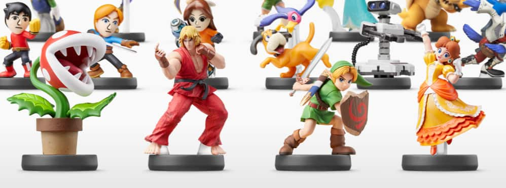 BEST BUY Smash Bros Amiibo Pre-orders for Young Link, Daisy & Ken $15.99