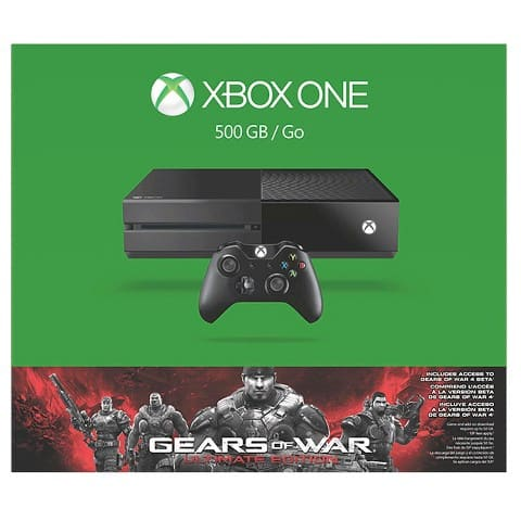 Target Cyber Monday: Xbox One 500GB Gears of War: Ultimate Edition Bundle, free EA sports game and free 3-month Xbox Live subscription for $254.99
