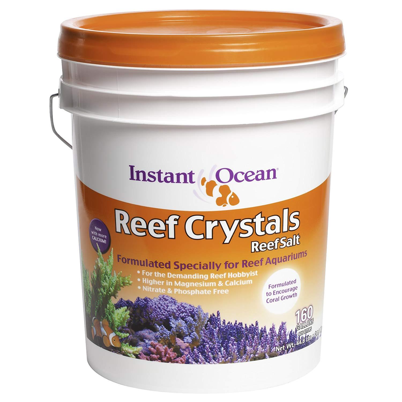 Instant Ocean Reef Crystals Reef Salt 160 gallon bucket $34.92