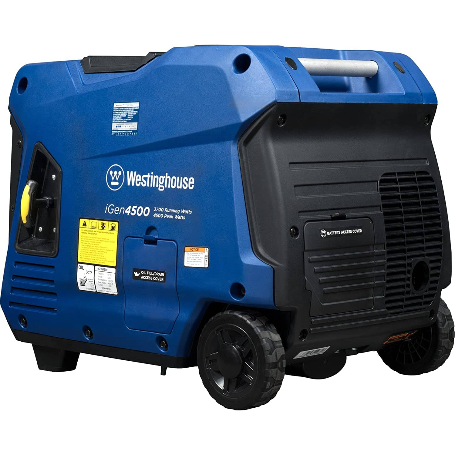 Westinghouse iGen4500 Super Quiet Portable Inverter Generator - 3700 Rated Watts and 4500 Peak Watts - Gas Powered - CARB Compliant $755.58