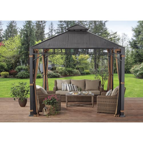 Better Homes & Gardens 10' x 10' Hardtop Gazebo $349