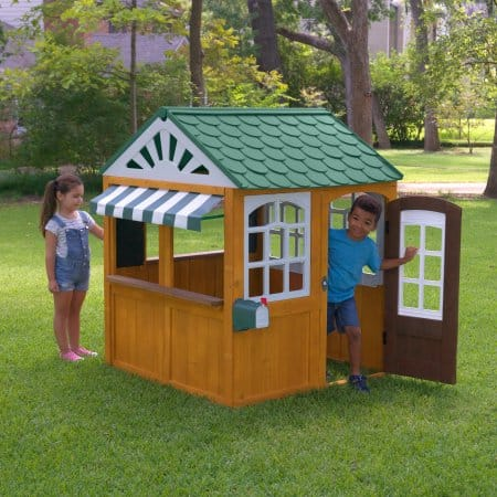 Select Walmart Stores Kidkraft Garden View Outdoor Playhouse