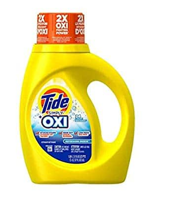37 oz. Tide HE w/ Oxi Available at Walgreens Online - 2 for $5 or $2.99 each, until it's gone $2.5