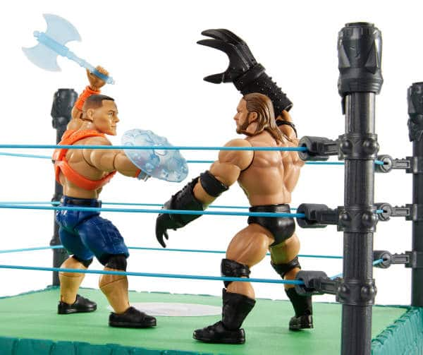 BigLots - Masters of the WWE Universe Grayskull Mania Ring w/ Figs - Action Figure/Wresting/Collectible/Toys $19