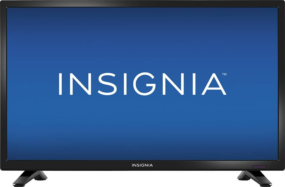 "Insignia 24"" 720p HDTV - $79 with College Coupon"