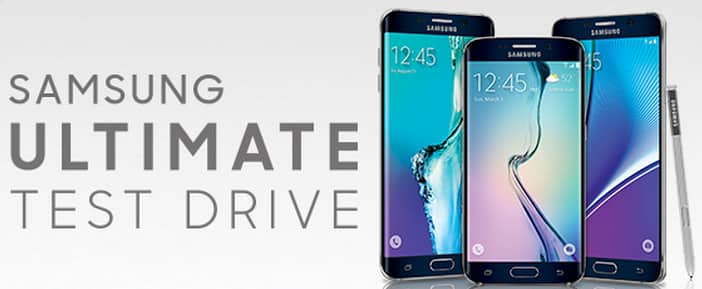 ULTIMATE Testdrive: Samsung Galaxy Note 5, S6 Edge+, or S6 30-day trial for $1