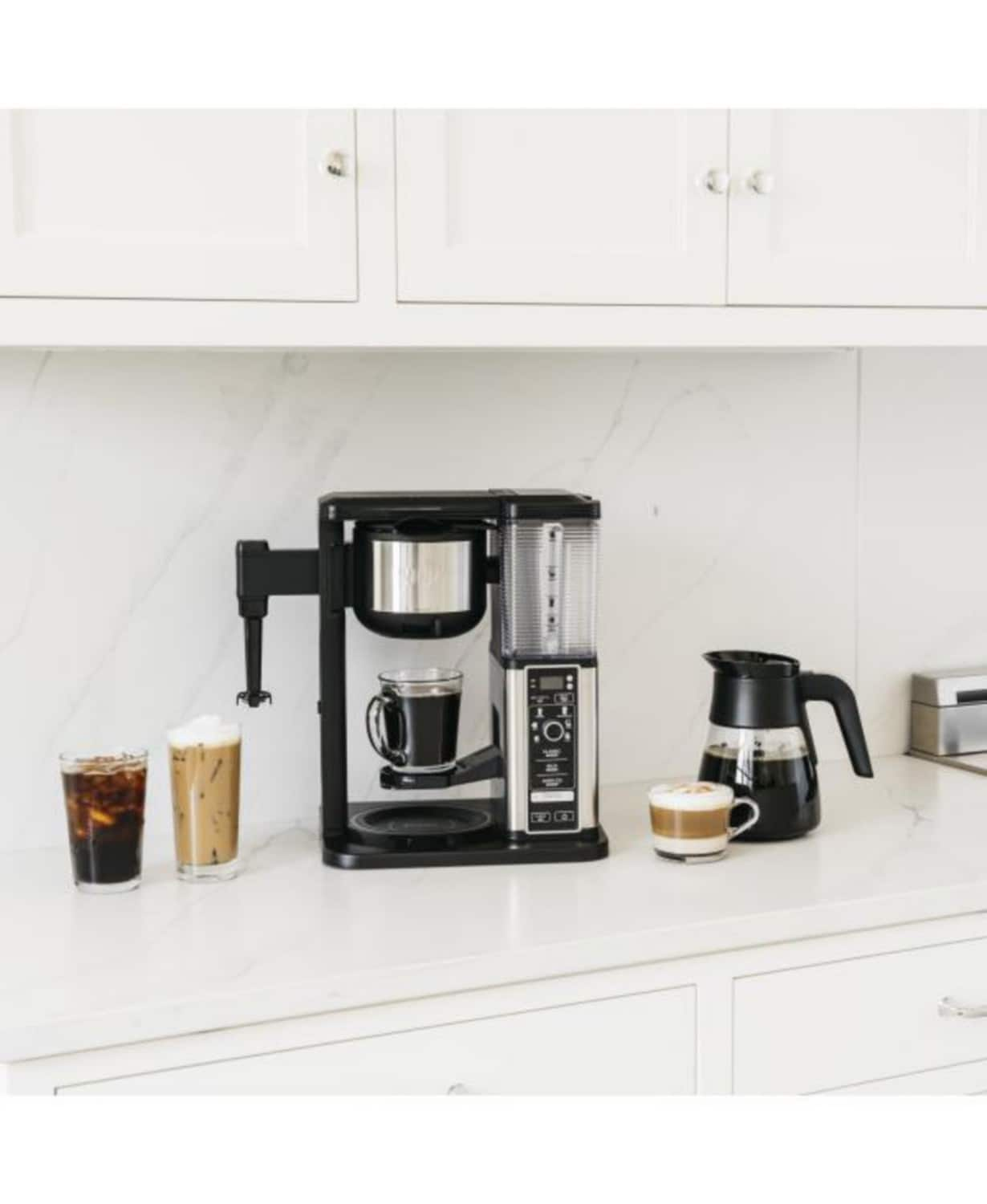 Ninja Specialty Coffee Maker with 50 Oz. Glass Carafe for $66.93