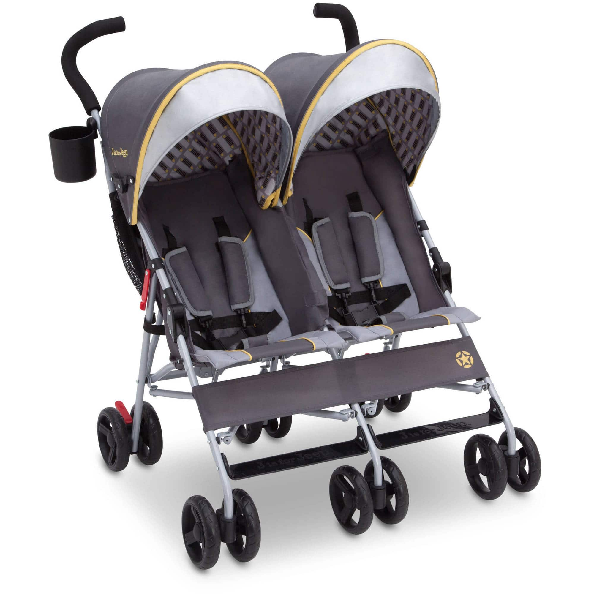 YMMV-J is for Jeep Brand Scout Double Stroller -$21