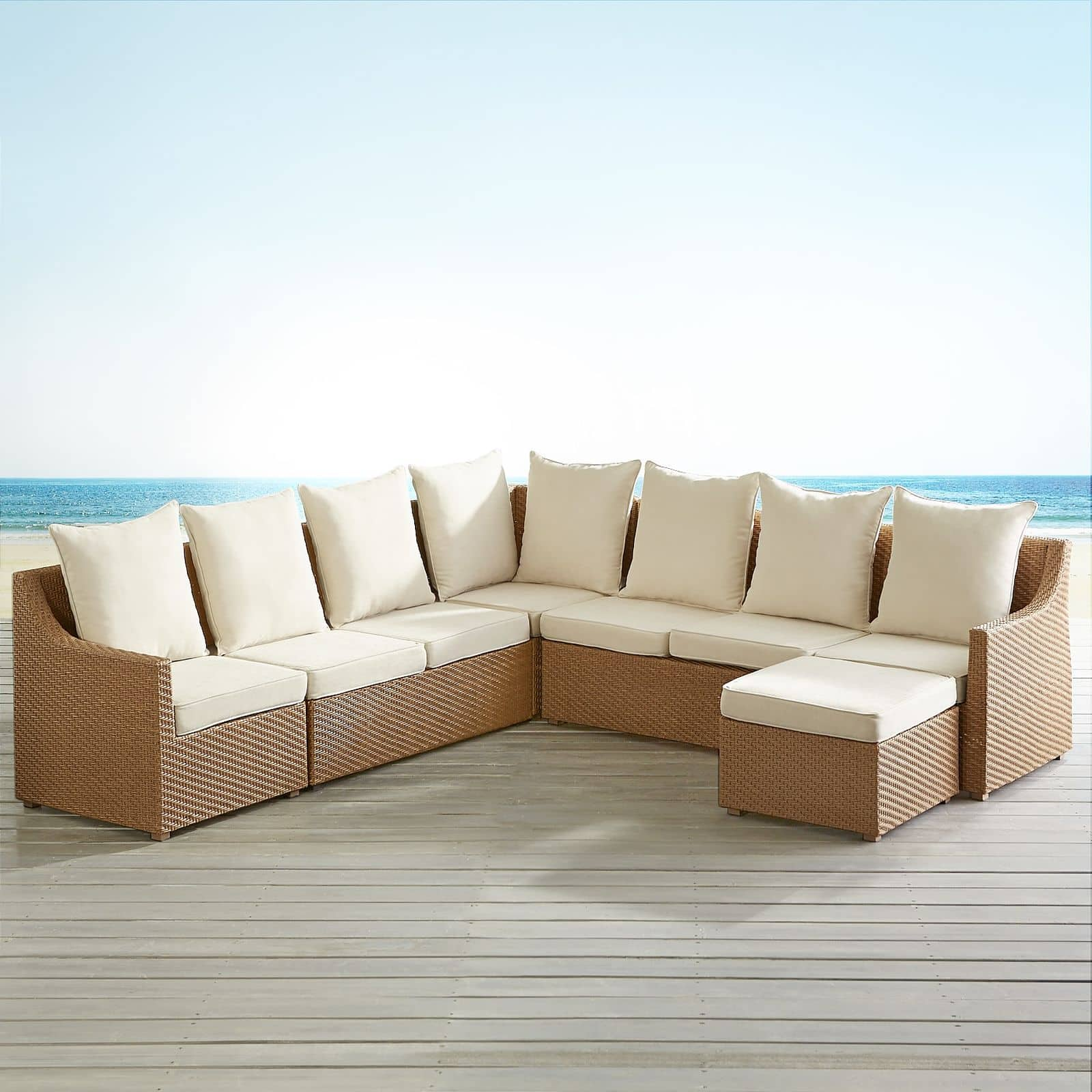 Ciudad Collection Light Brown Build Your Own Sectional - up to 88% OFF $29.98