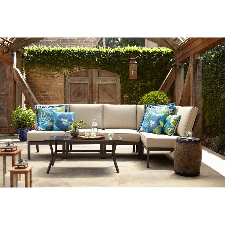 Garden Treasures Greenway 5-Piece Steel Patio Conversation Set $498