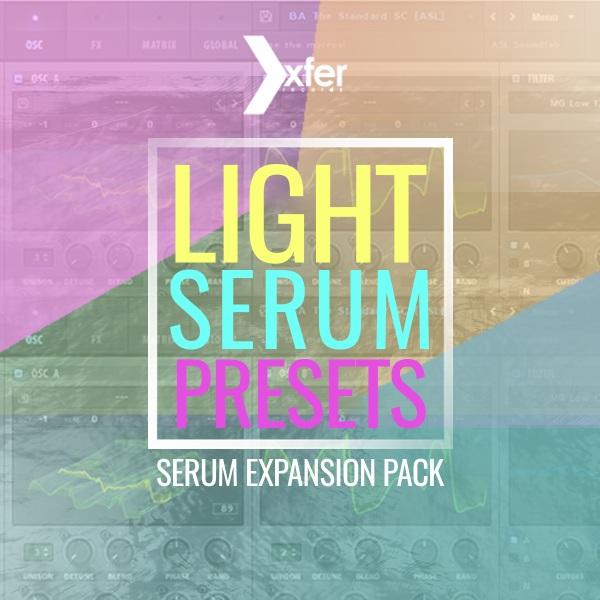Plugin Boutique Light Serum Presets - FREE