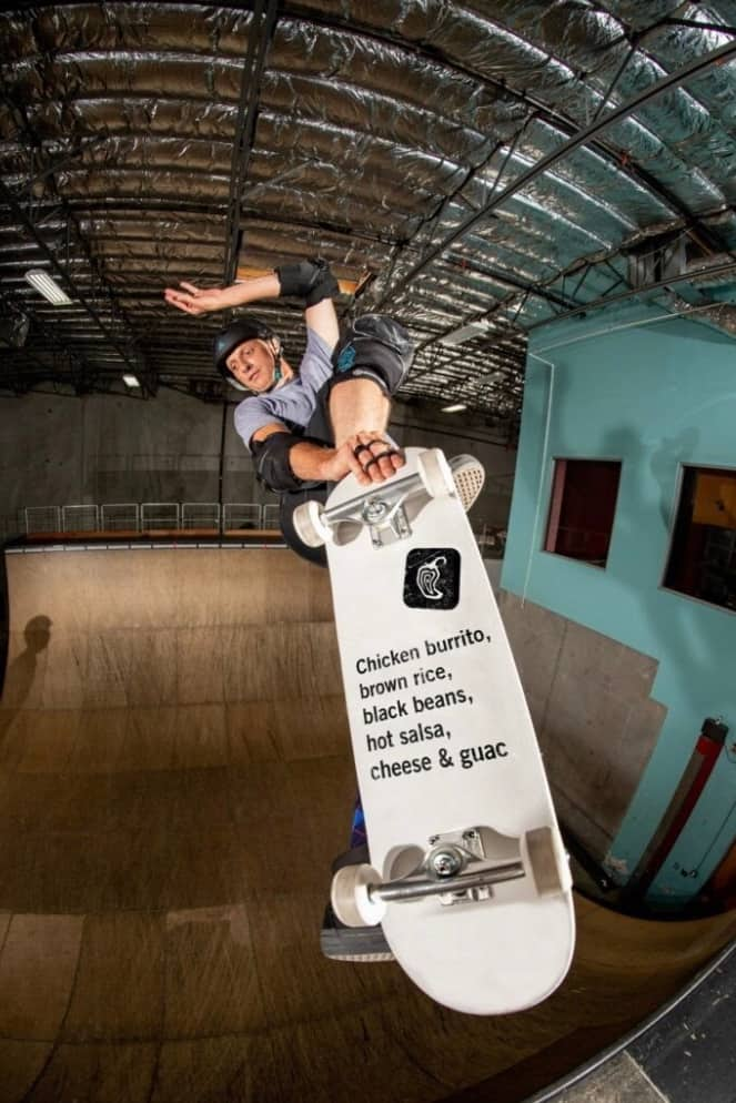 Free Tony Hawk Early Access with Chipotle Burrito Purchase $10.17