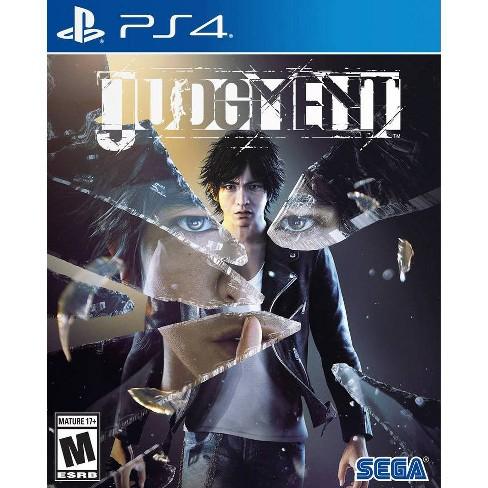 Judgement (PS4) - $29.99 Target In Store Pickup (or $39.99 Gamestop)