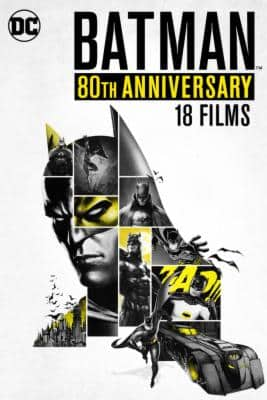 Batman 80th anniversary Collection 18 movies---Best Price $49.99