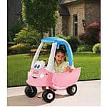 Little Tikes Princess Cozy Coupe Ride-On, Light Pink $38 - Walmart - Free Ship to Store