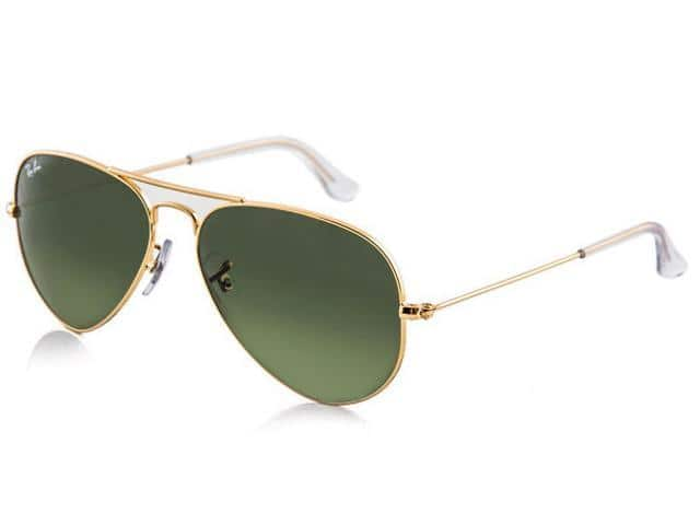 Ray Ban Aviator Flash Mirror Sunglasses $59