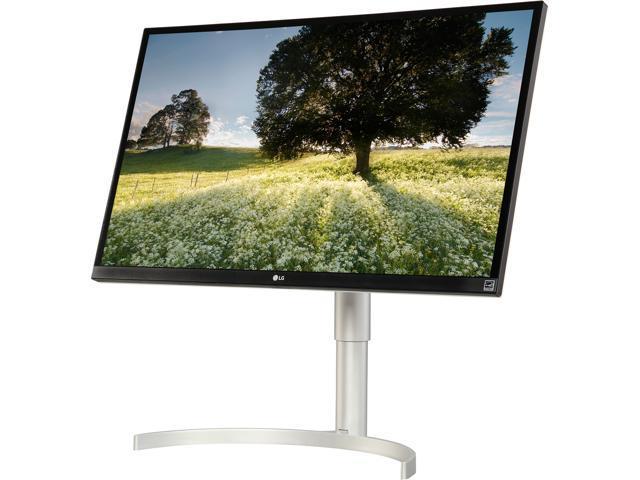 """LG 27BL85U-W 27"""" 4K Ultra HD 3840 x 2160 HDMI DisplayPort USB Type-C FreeSync Tilt, Pivot, Height Adjustable IPS Monitor $429.99 + free shipping"""