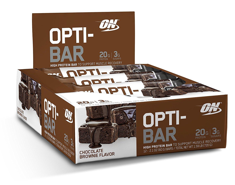 Optimum Nutrition Opti-Bar 12 ct $2.79 + $6.75 shipping