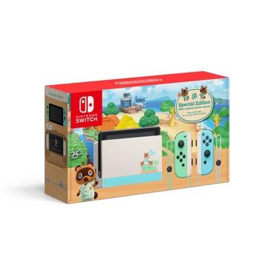 Nintendo Switch Animal Crossing: New Horizons Edition : Target $299.99