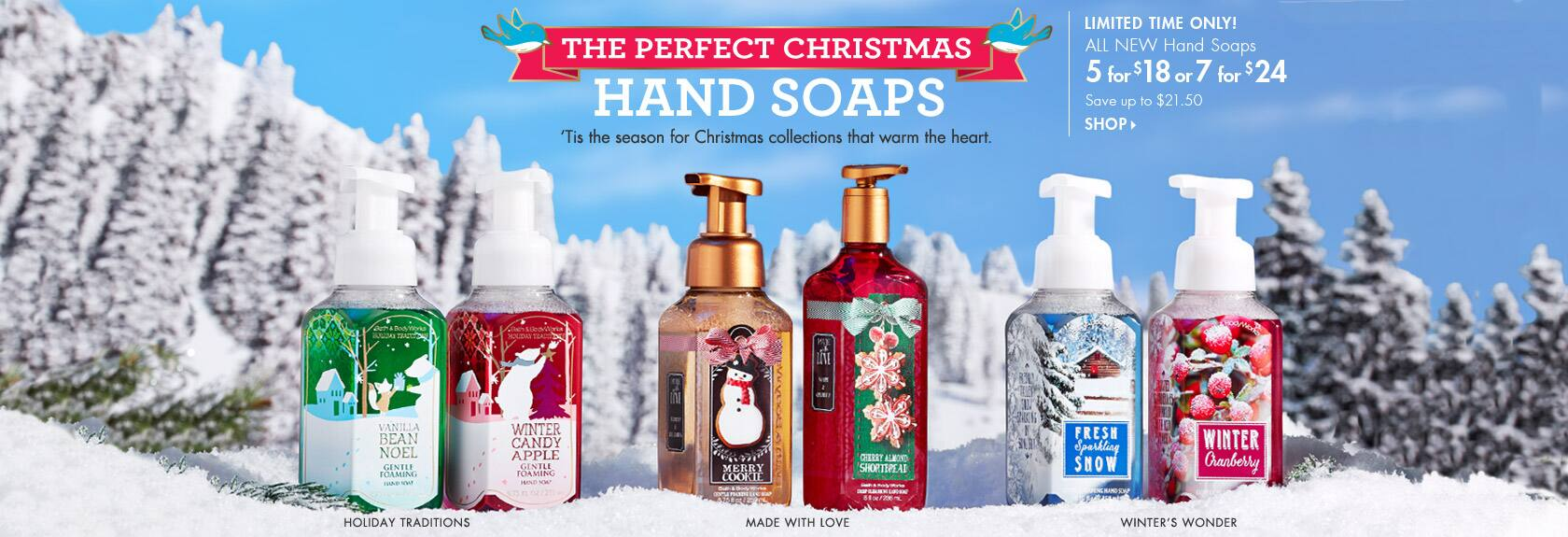 Bath & Body Works Surprise E-mail Offer, up to 40% off Online & In Store