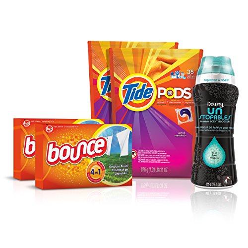 Tide Amazing Laundry Bundle (68 Loads) $21.20 @ 5% S&S, $18.10 @ 15% S&S