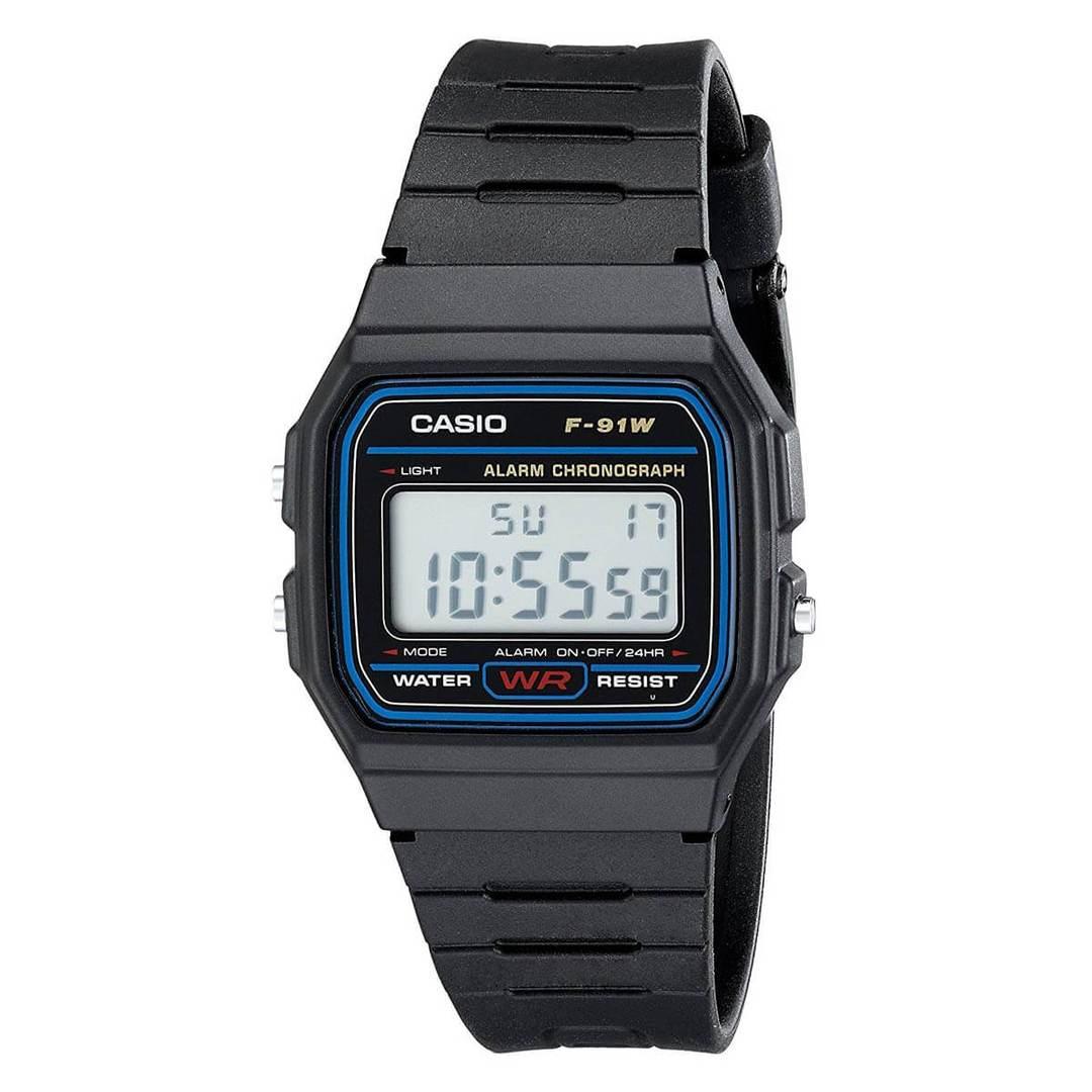 518972ecefc5 Casio F91W-1 Watch (CLASSIC 90s Style