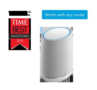 Orbi Voice Smart Speaker and WiFi Mesh Extender with Amazon Alexa $149.99