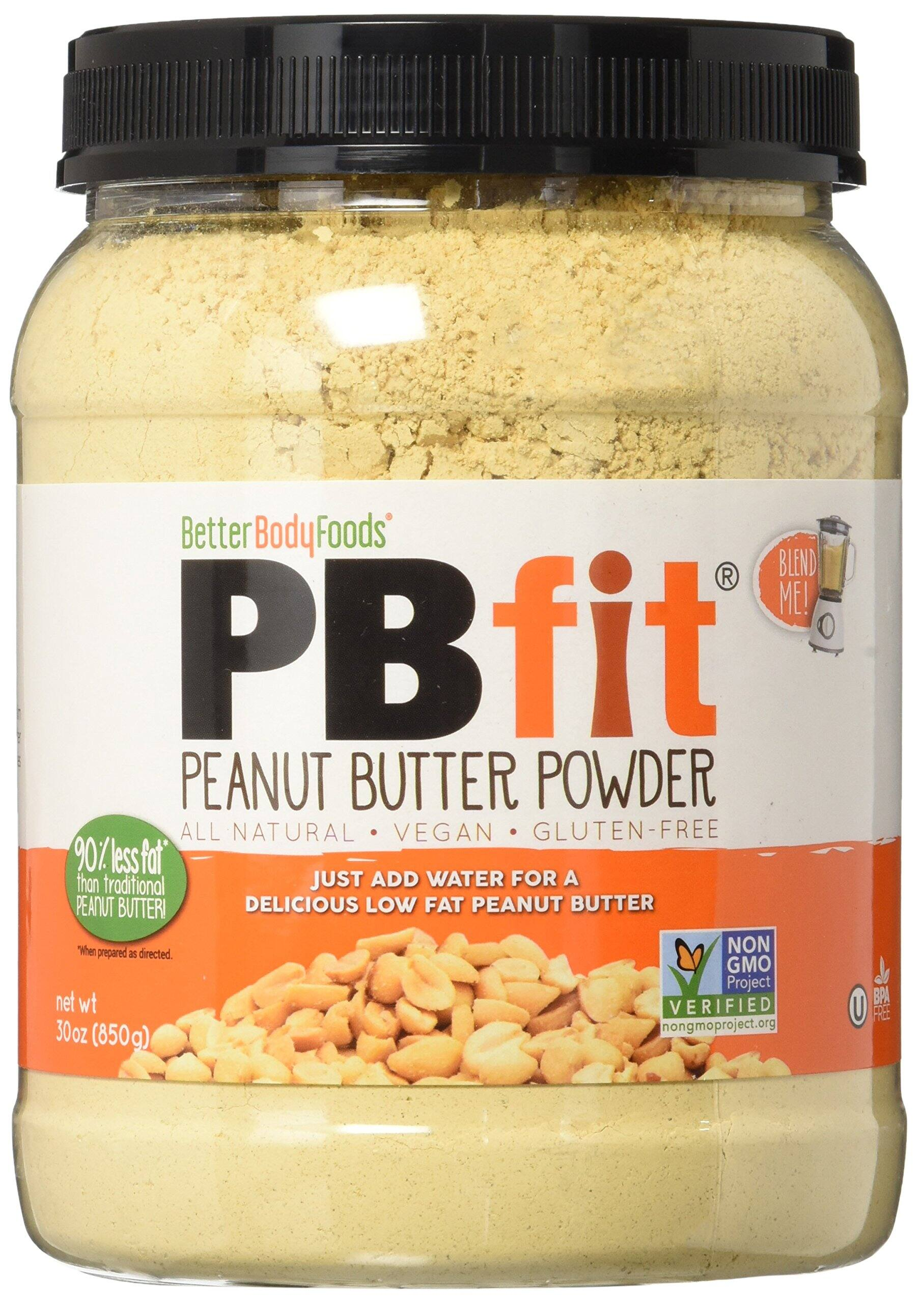 BetterBody Foods PBfit Organic All-Natural Peanut Butter Powder, 30 Ounce $13.41 @ Amazon FS w/ Prime