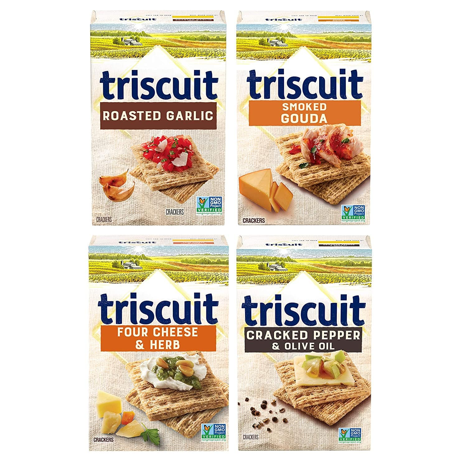 Amazon S&S - Triscuit Variety Pack - Four 9oz boxes - $7.01
