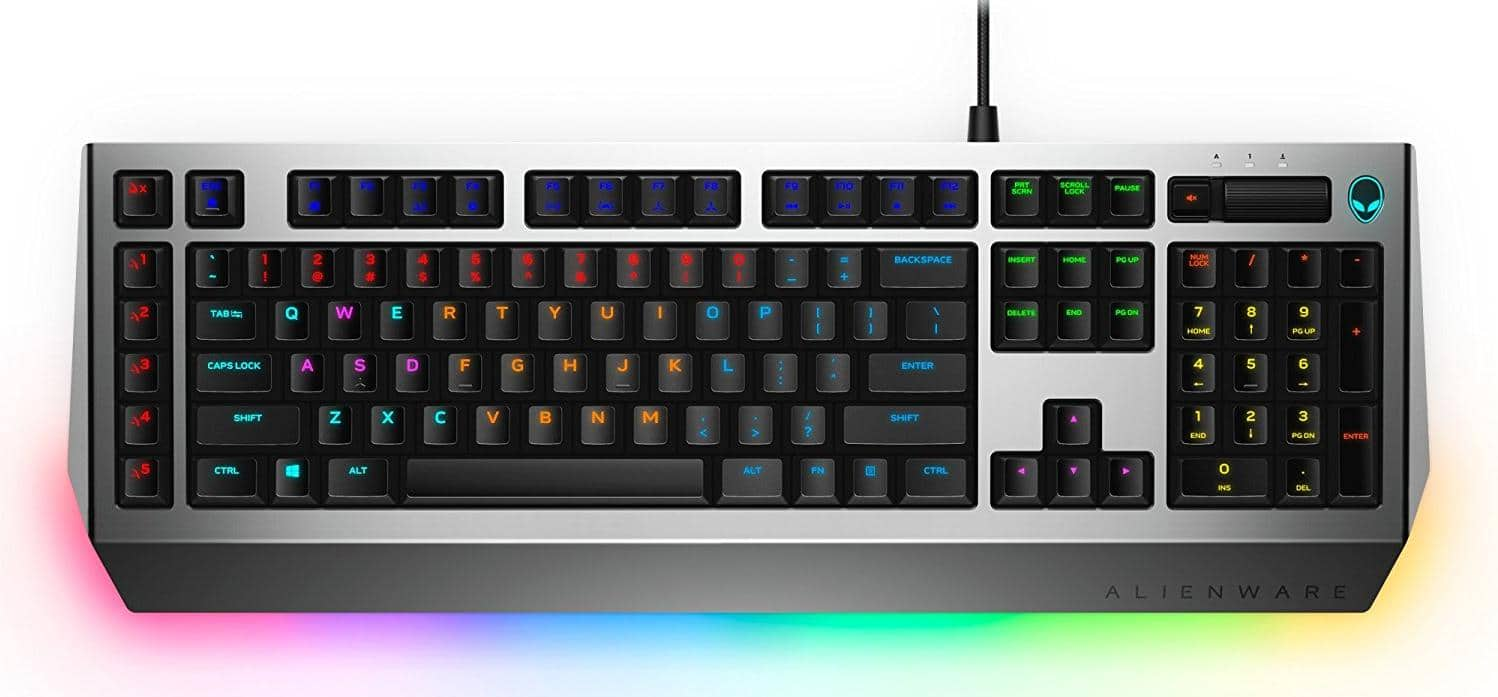 Alienware Pro Gaming Mechanical Keyboard Brown switches - AW768 - $50