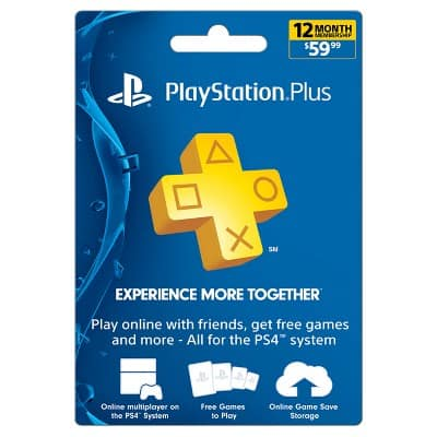 Playstation Plus 12 Month for $49.99 (47.49 with REDcard) - Instant delivery