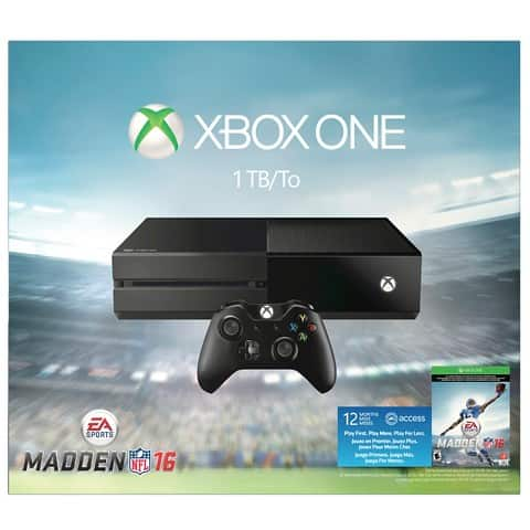 Xbox One 1 TB Bundle + Free Game ($50 off plus extra 15% Cartwheel Coupon) = $297.50 YMMV