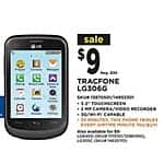 ZTE Whirl 2, LG Optimus Fuel, ZTE Midnight, LG Optimus Logic Android Smartphones for $9 At Dollar General