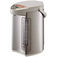 Amazon Deal: Amazon has Zojirushi CV-DSC40 VE Hybrid Water Boiler and Warmer, Stainless Steel for $118.79,