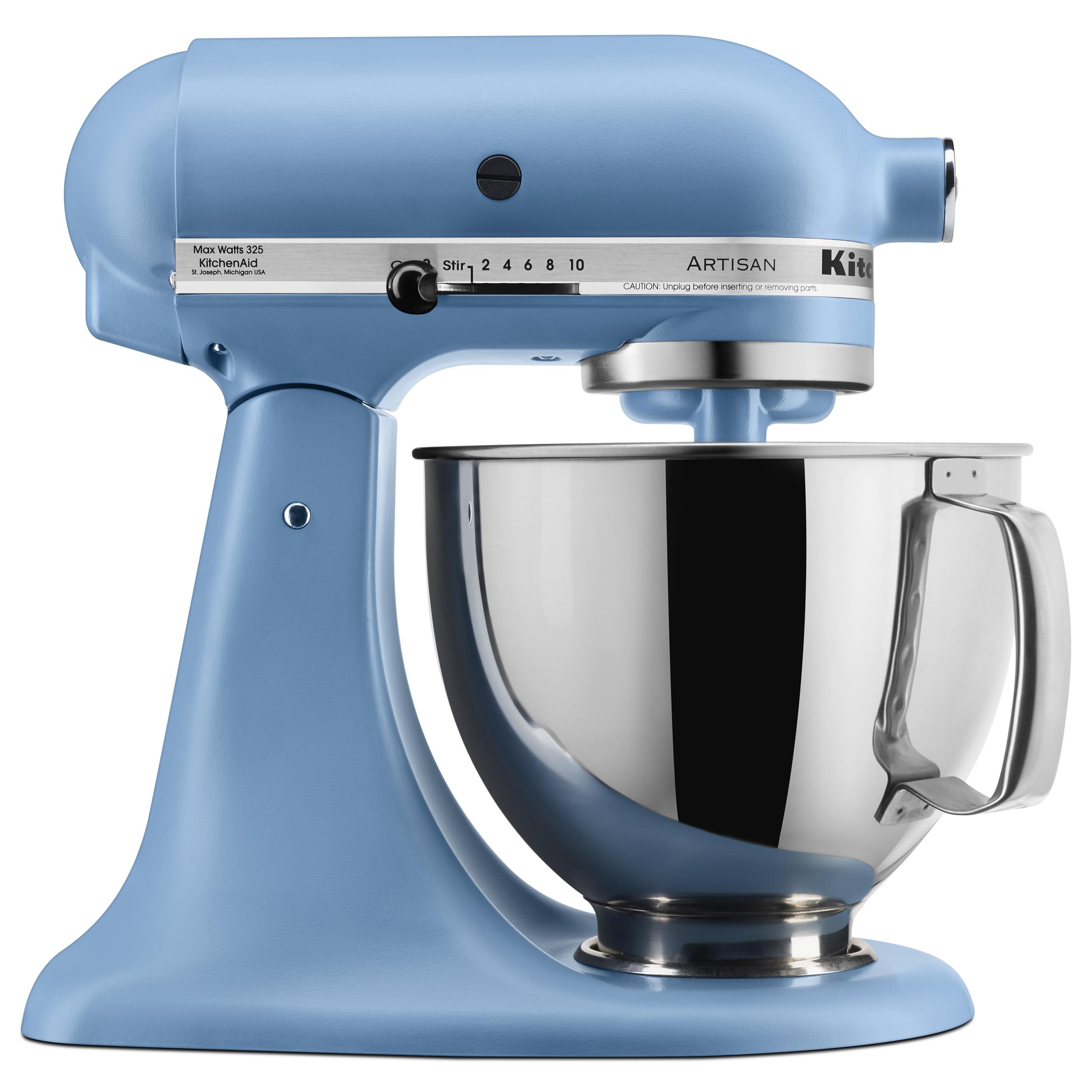 KitchenAid KSM150 Artisan Stand Mixer, 5 quart, Matte Velvet Blue, Walmart B&M Clearance YMMV $149