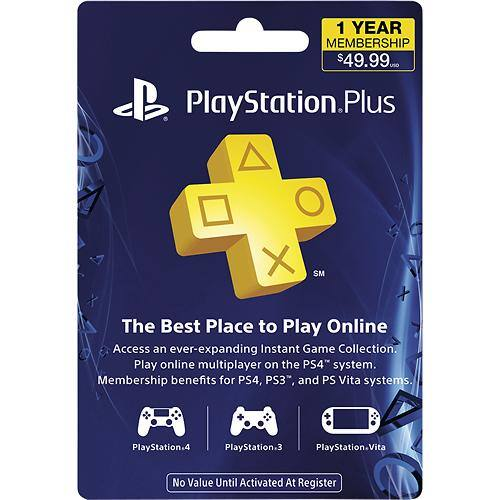 Black Friday, Only! PlayStation Plus 1 Year Membership $29.99 @ Multiple Retailers!