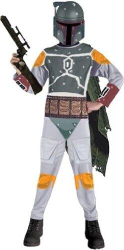 Star Wars Child's Boba Fett Halloween Costume, Small $7.97 - Exclusively for PRIME Members