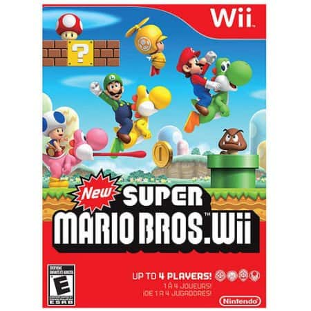 New Super Mario Bros Wii PRE-OWNED $6.88 - Walmart- Free Store Pickup