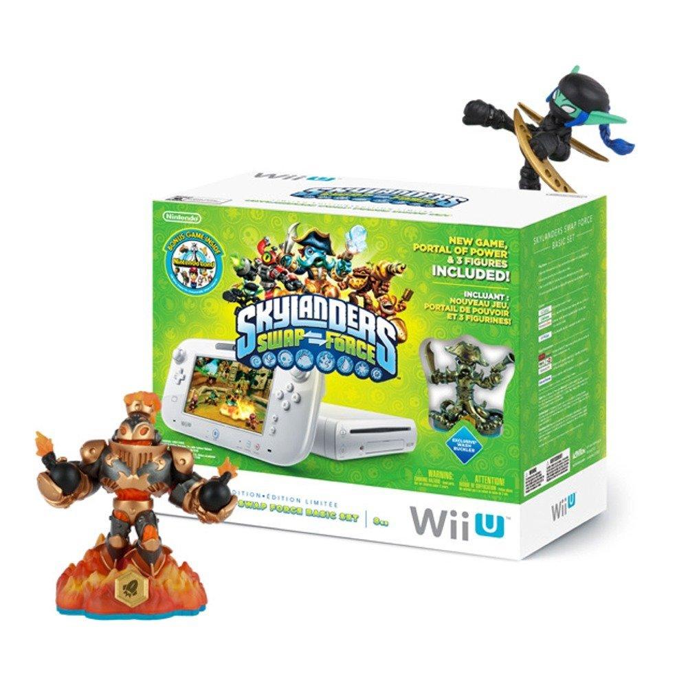$172.97 Wii U 8GB Skylanders SWAP Force Bundle - IN STORE YMMV - GameStop