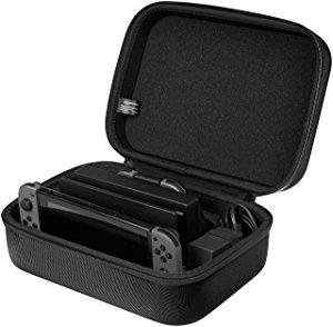 $20 AmazonBasics Nintendo Switch Travel Case - Neon Yellow, Red, or Black