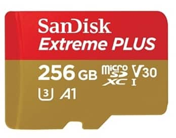 Micro SD Cards - $23 256gb SanDisk Extreme Plus, $9 to $21 200gb SanDisk Ultra Plus, $7 64gb SanDisk Ultra Plus - IN STORE YMMV -Office Depot / Walmart