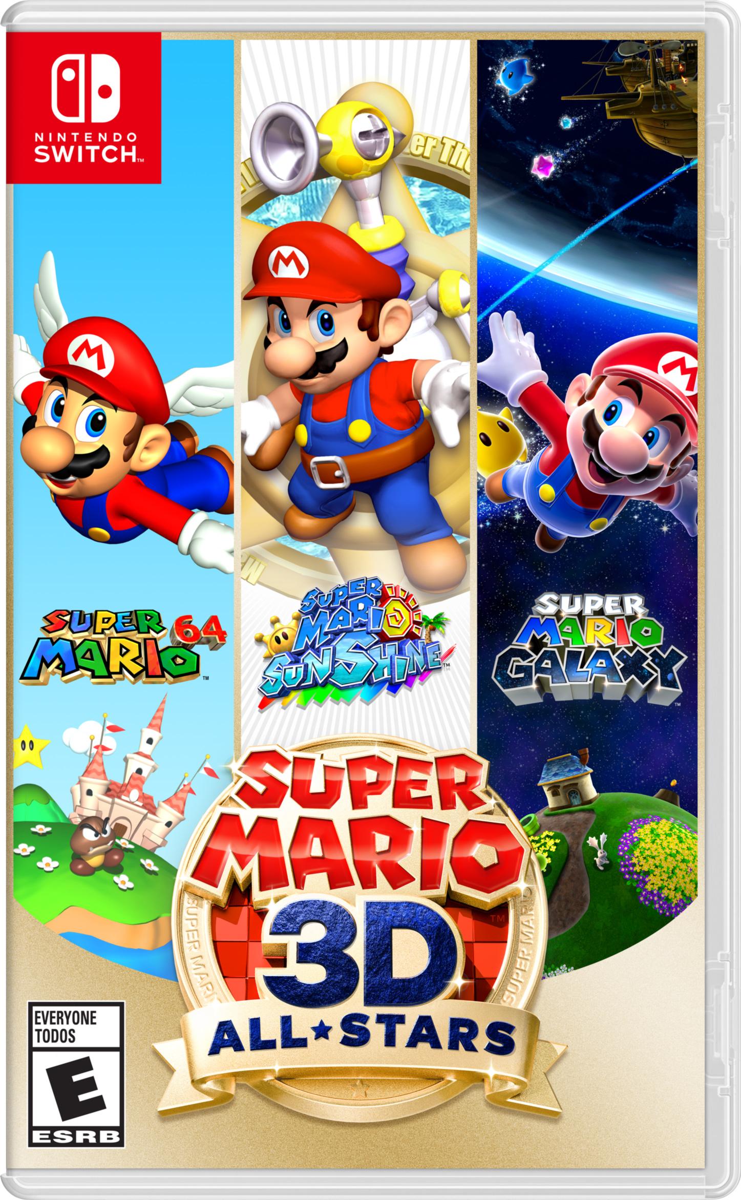 $49.94 Super Mario 3D All-Stars - IN STORE YMMV (Sept 18 / Nintendo Switch) - Walmart