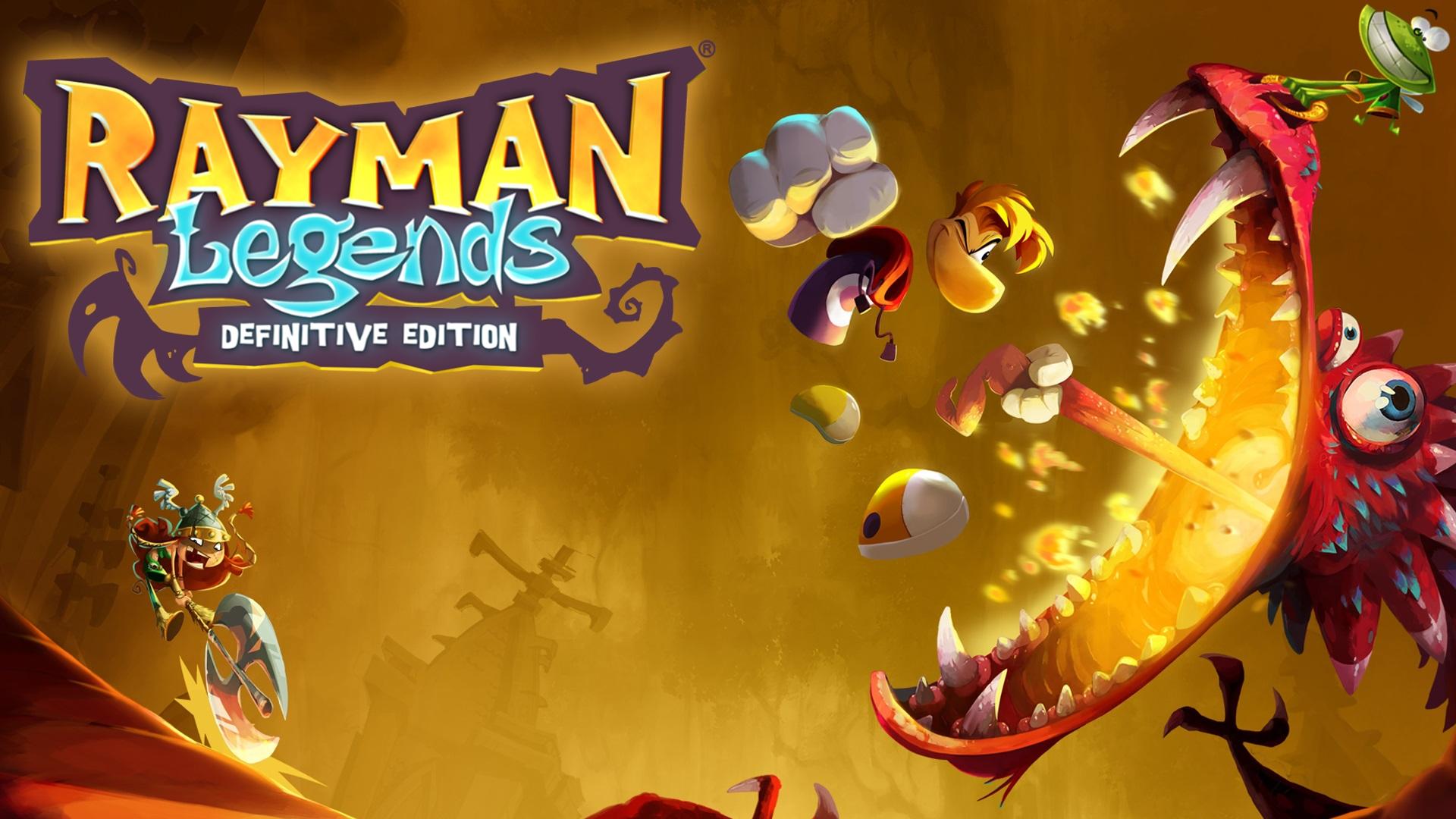 $9.99 Rayman Legends Definitive Edition - Nintendo Switch - eShop