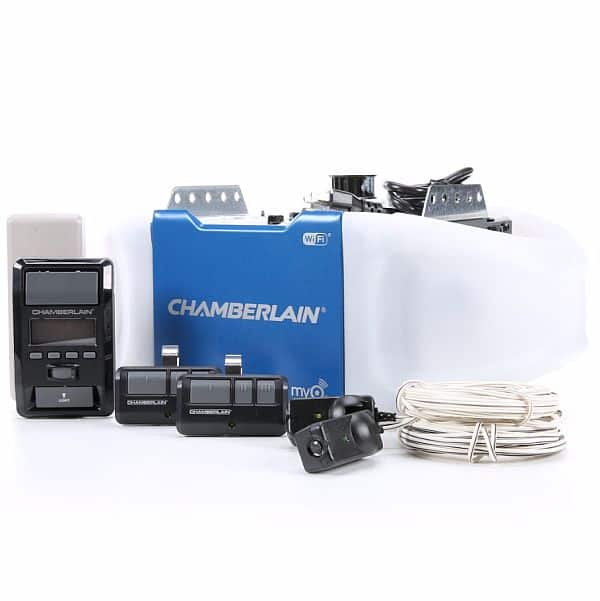 Chamberlain Lw9000wf 1 25 Hp Garage Door Opener W Wifi