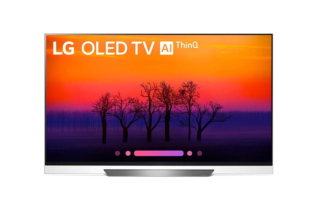 LG OLED55E8P 55 CLASS OLED 4K TV - picture on glass : 2018 Model - $1099